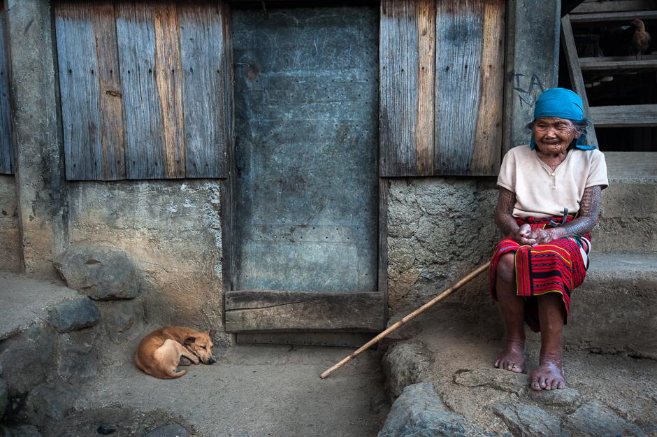 Blind Kalina Woman