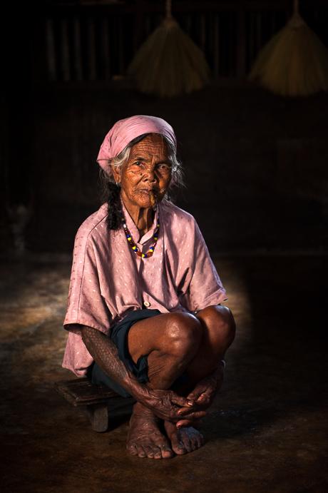 Tattooed Kalinga Woman