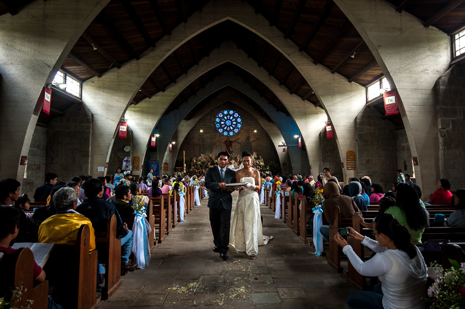 Kankanaey Church Wedding