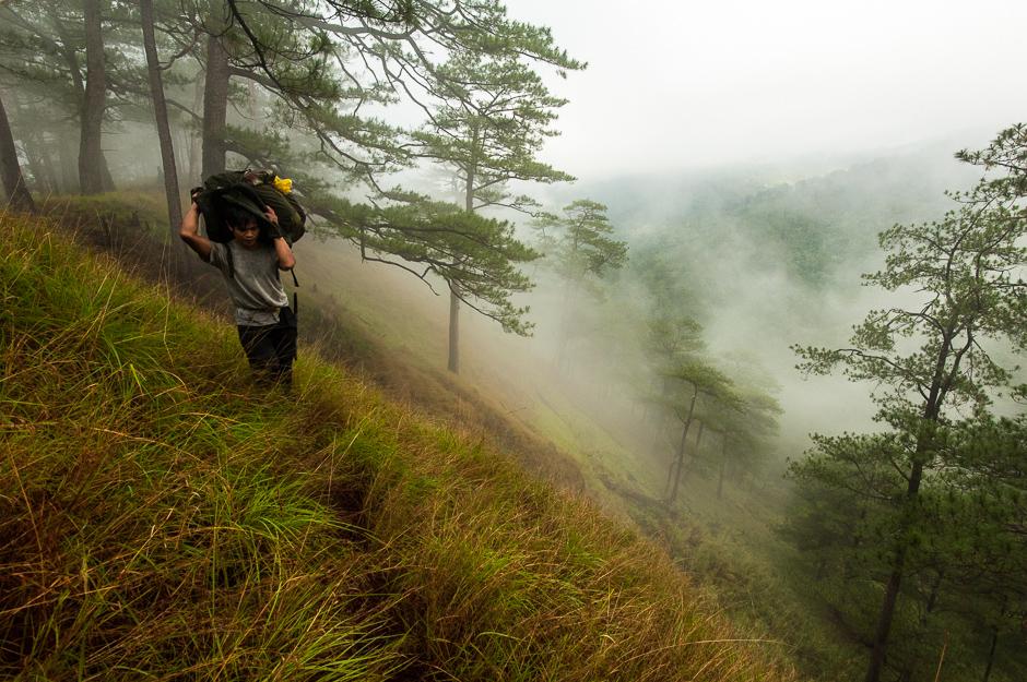 Hiking in the Cordilleras