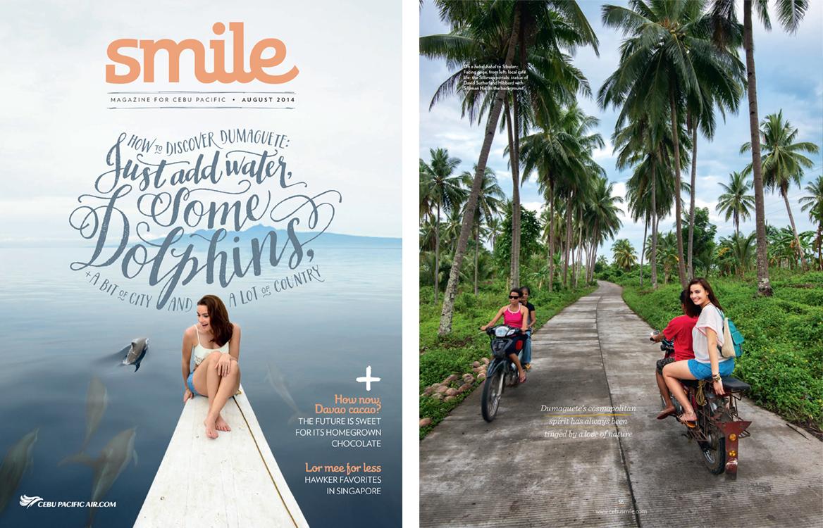 Smile Magazine, August 2014
