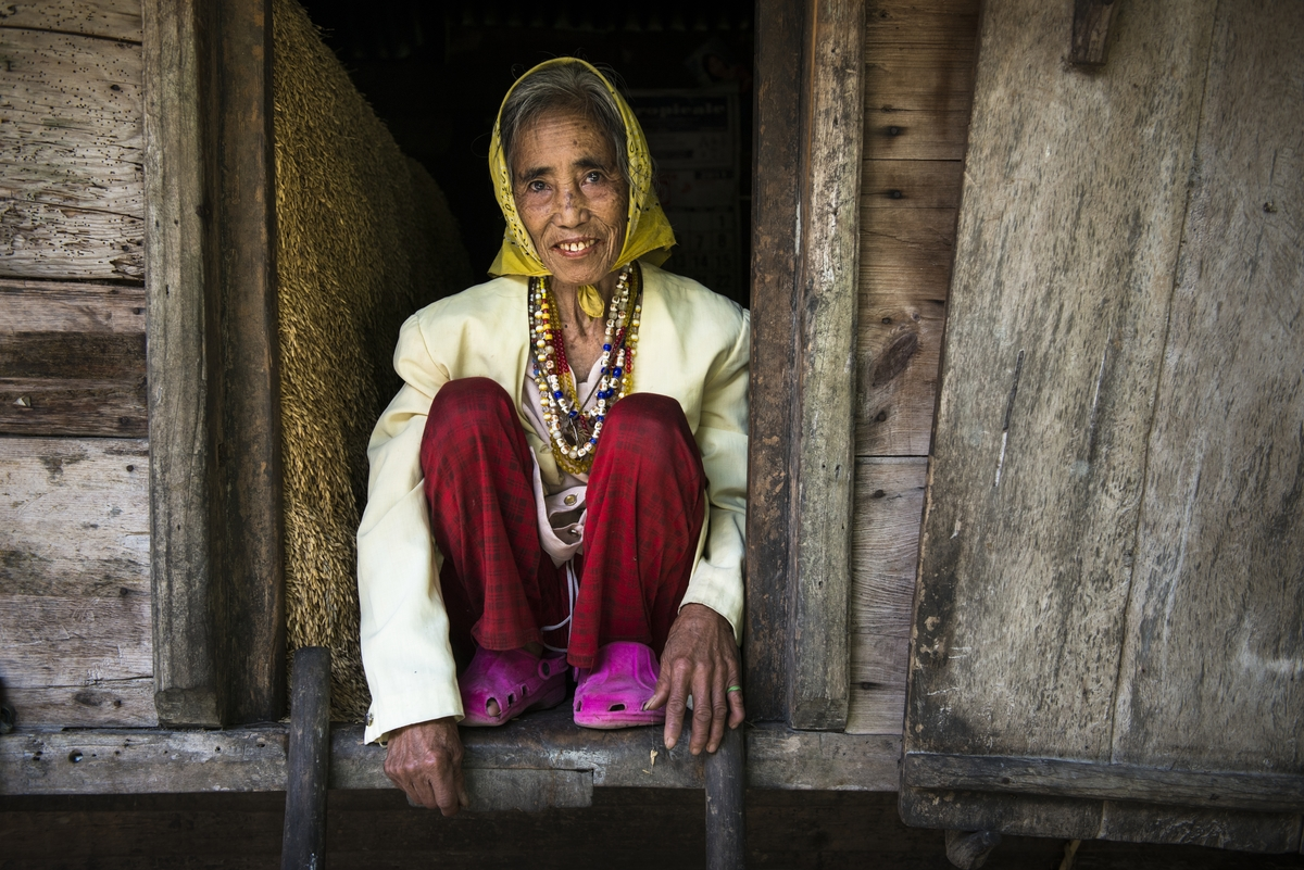 Portrait Ifugao Woman
