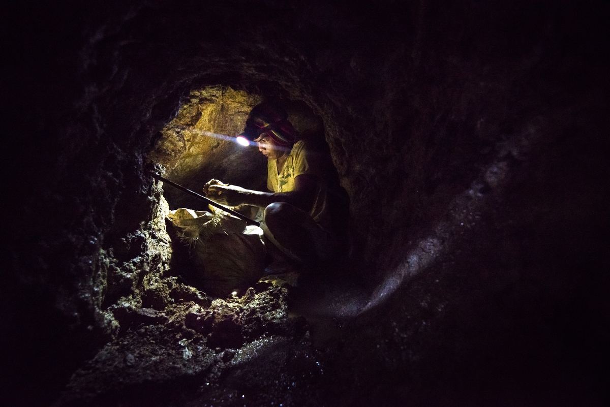 Small scale gold mining